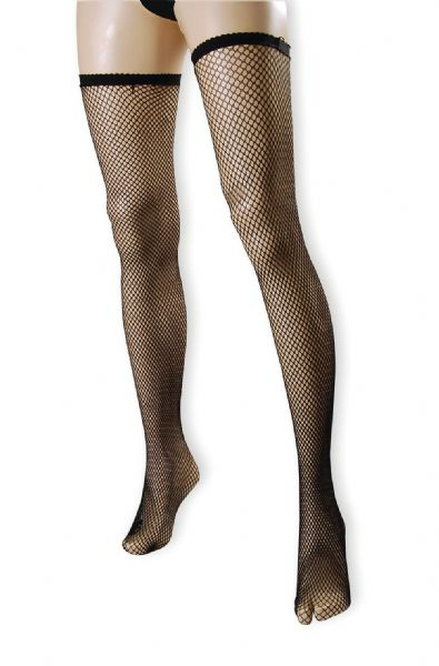 Fishnet Stockings Black Sexy Adult Role Play Fancy Dress
